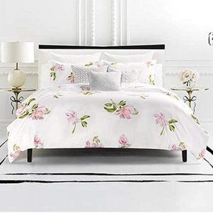 Kate Spade Magnolia Comforter Set Full/Queen NEW